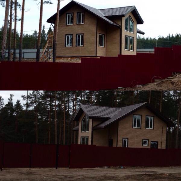 Посёлок Ларионово, Приозерский район.